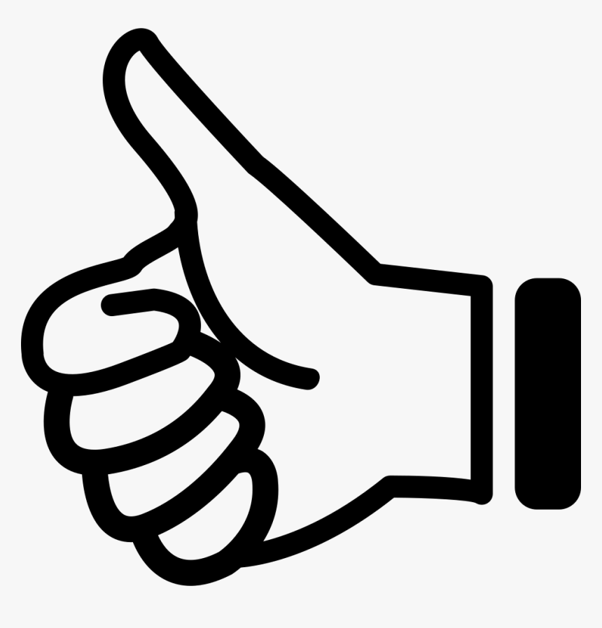 Thumb Up Comments - Thumbs Up Right Hand, HD Png Download, Free Download