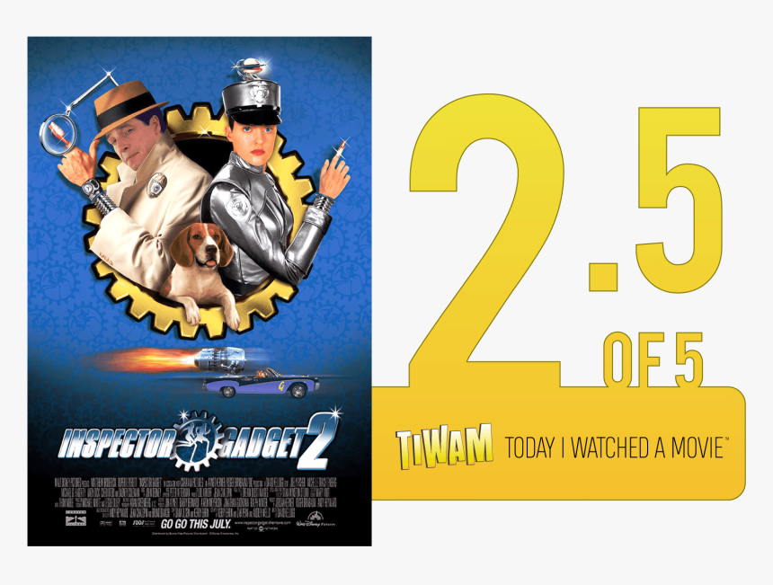 Inspector Gadget 2 2003 Movie Poster, HD Png Download, Free Download