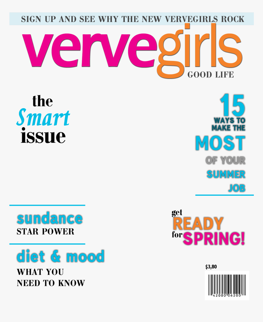 Fake Magazine Cover Generator - Transparent Magazine Cover Template, HD Png Download, Free Download