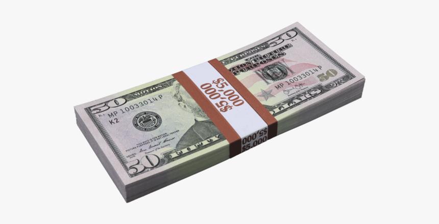 50 Dollar Bill, HD Png Download, Free Download