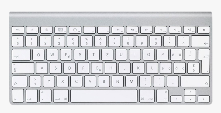 Apple Keyboard - Magic Mouse And Wireless Keyboard, HD Png Download, Free Download