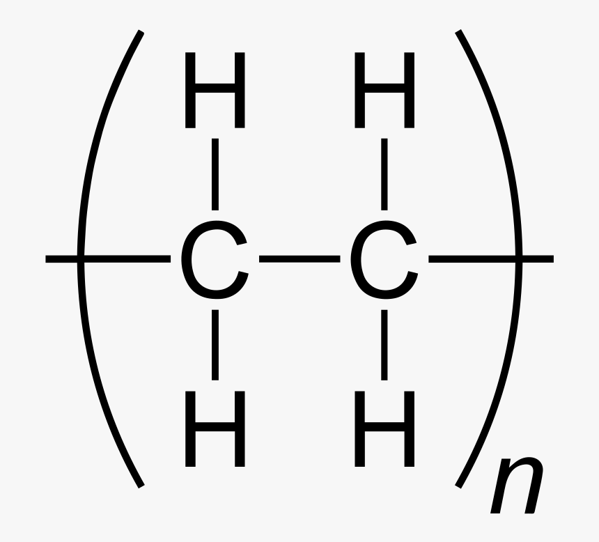 Repeating Unit Of Poly Ethene, HD Png Download, Free Download