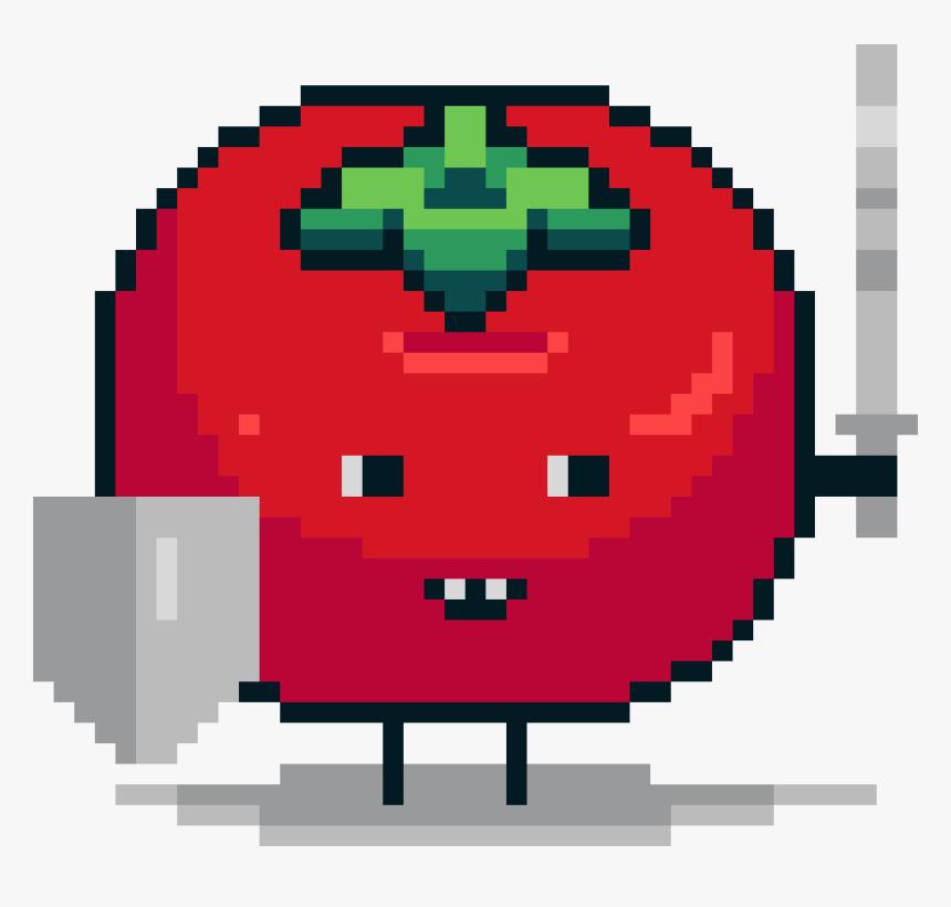 #pixelart #tomato #knight #sword - Evil Eye Pixel Art, HD Png Download, Free Download