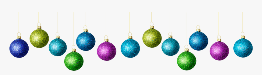 #hanging #christmas #holiday #balls #decorations #multicolor - Christmas Ornament, HD Png Download, Free Download