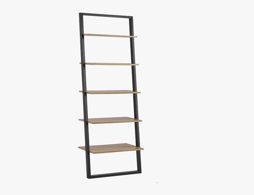 Ladder Shelf Oak Black, HD Png Download, Free Download