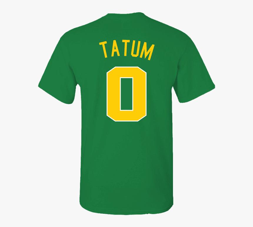 "Men""s Boston Celtics Jayson Tatum 2018 City Edition - Active Shirt, HD Png Download, Free Download"