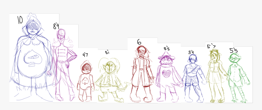 Some Deltarune Height Headcanons/design Headcanons - Illustration, HD Png Download, Free Download