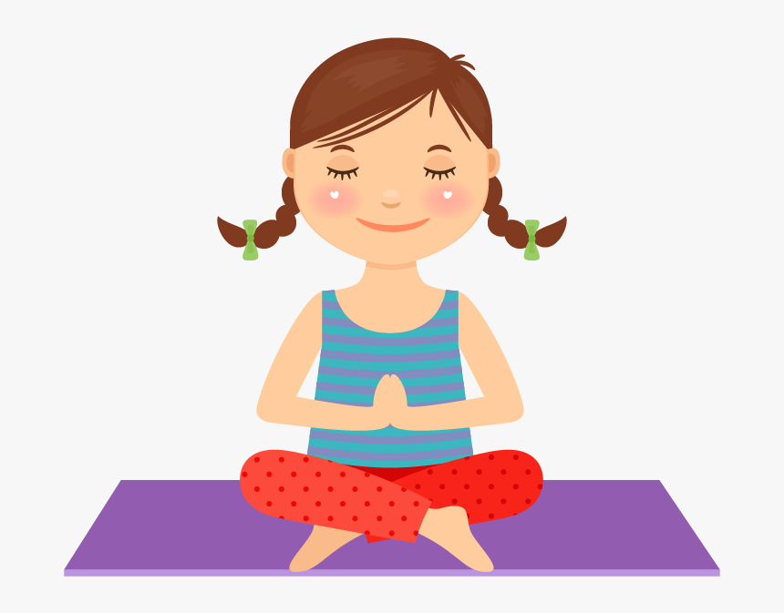 Yoga Kid Clipart Clipart Library Kid Yoga Clip Art Kid Yoga Clipart Hd Png Download Kindpng