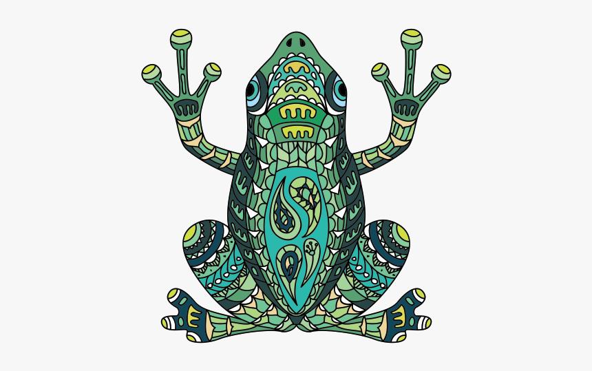 Australian Green Tree Frog Tattoo Blue Poison Dart - Frog Tattoo, HD Png Download, Free Download