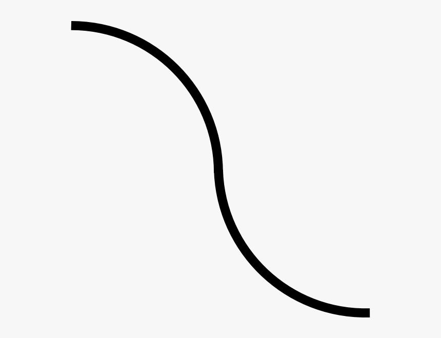 Transparent Fancy Lines Png - Transparent Background Curved Line Png, Png Download, Free Download