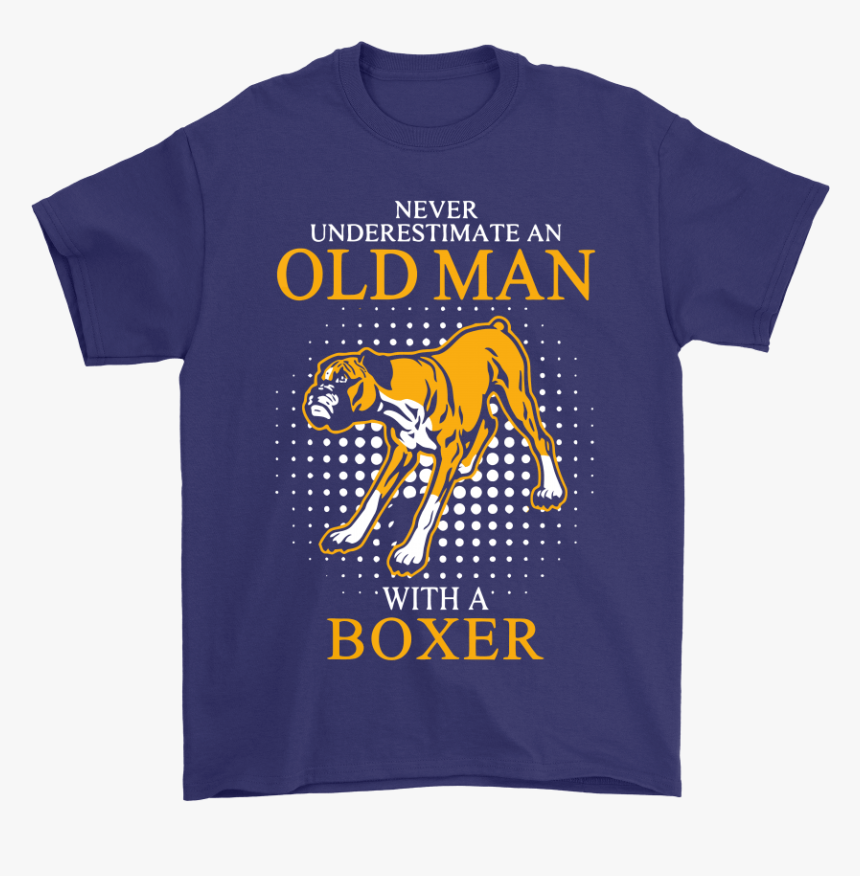 Never Underestimate An Old Man With A Boxer Dog Shirts - Never Underestimate An Old Man With A Jeep, HD Png Download, Free Download