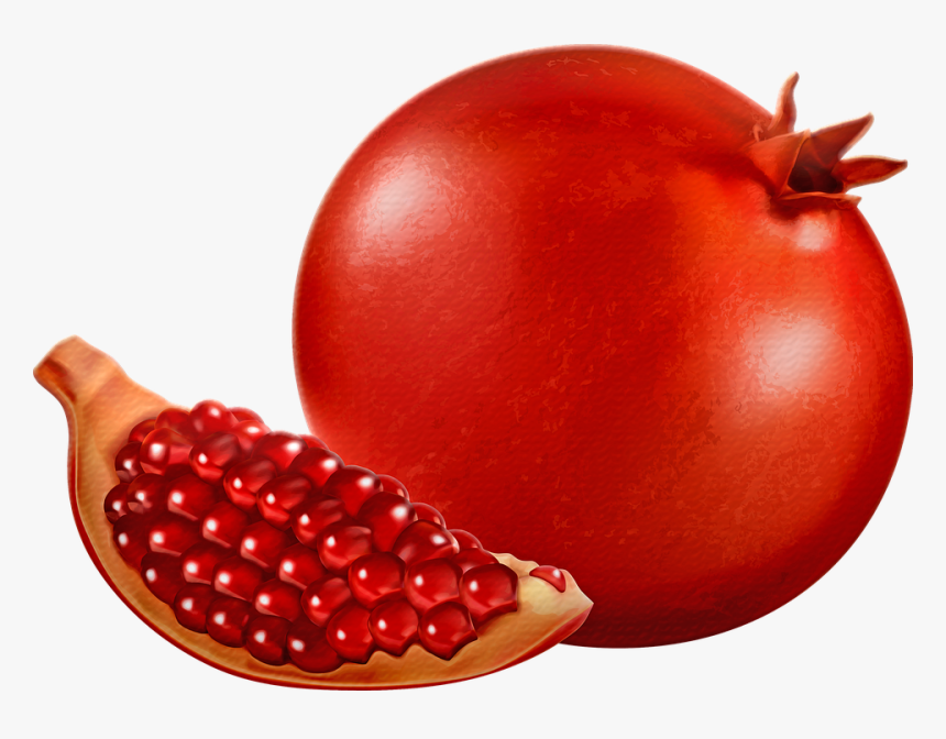Clipart Images Of Pomegranate, HD Png Download, Free Download