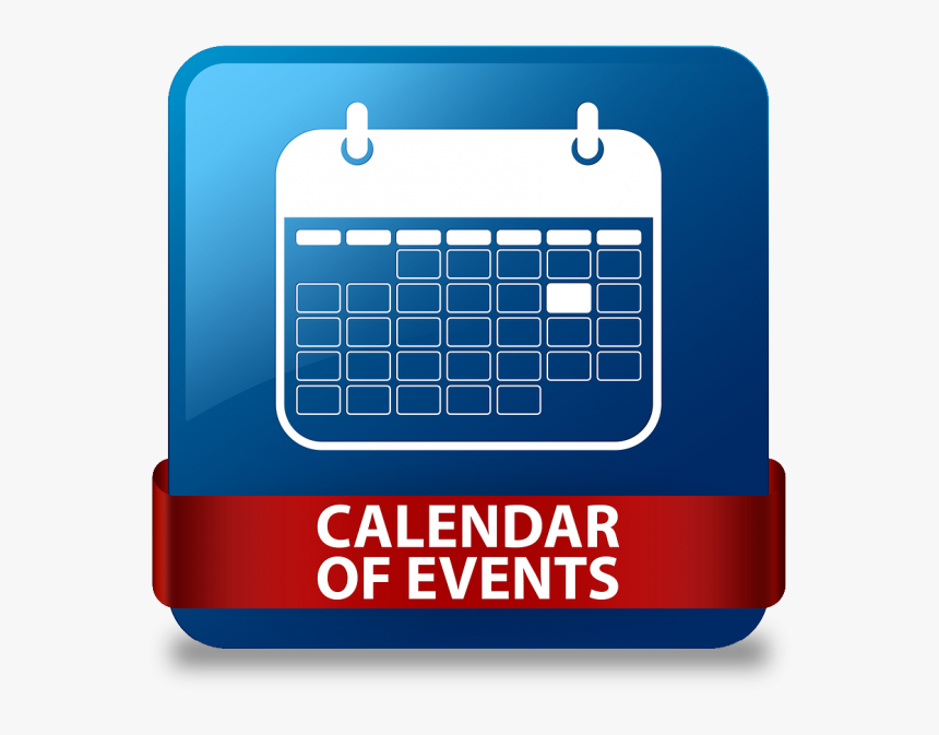 Mark Your Calendar - Purple Calendar Of Events, HD Png Download, Free Download