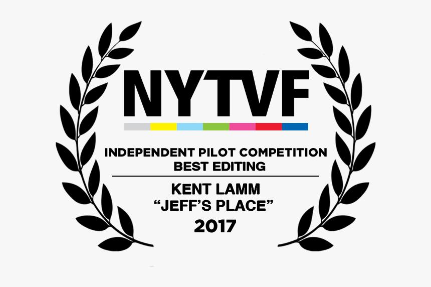 2017 Laurels Ipc Black Best Editing - Calgary International Film Festival 2019, HD Png Download, Free Download
