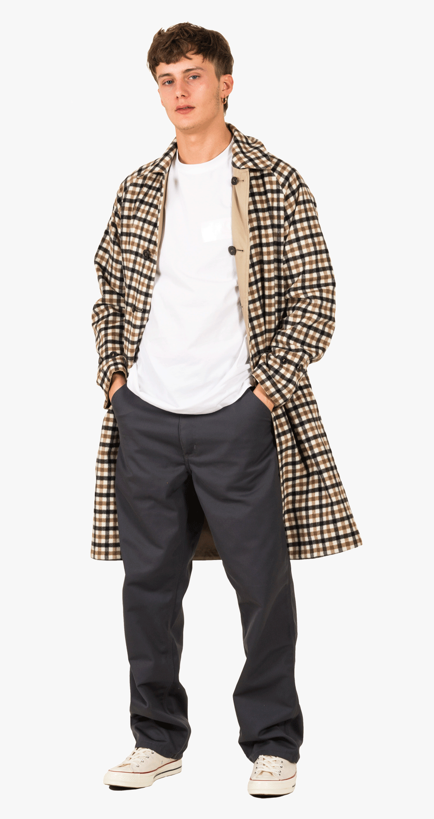 Gents Gm-112 Mo2786 Besh - Plaid, HD Png Download, Free Download
