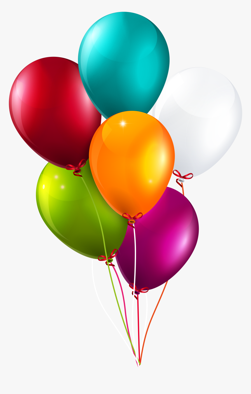 Transparent Background Clipart Balloons, HD Png Download, Free Download