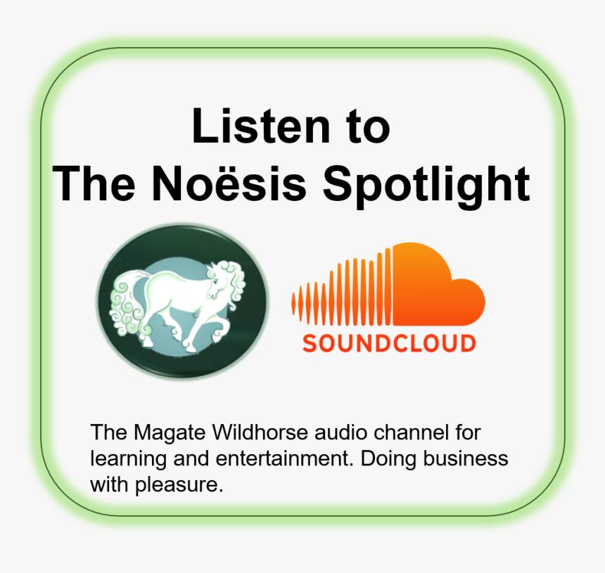 Magate Wildhorse Soundcloud Channel, Audio Stories - Soundcloud, HD Png Download, Free Download