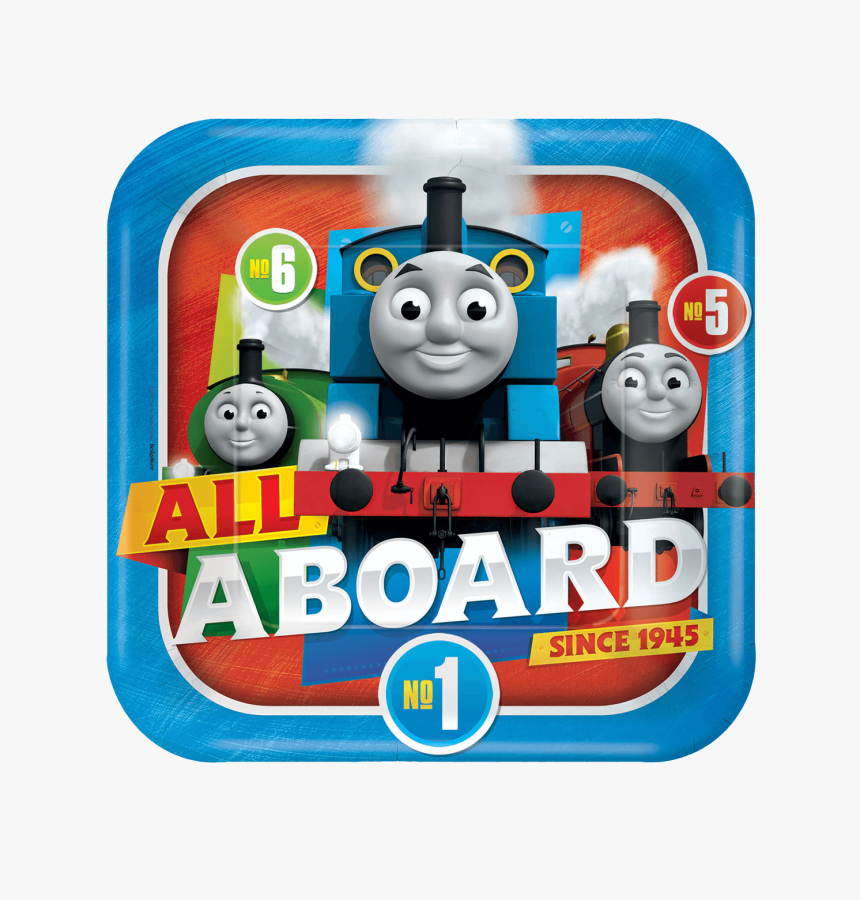Thomas & Friends Paper Plates - Thomas Party Supplies, HD Png Download, Free Download