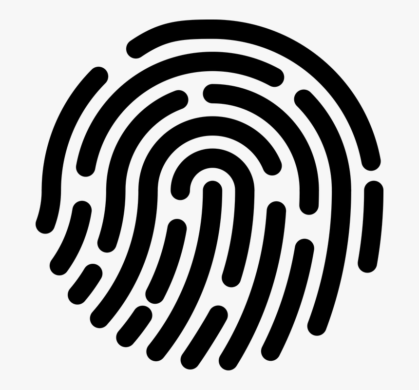 Fingerprint Banner Royalty Free Stock Dna - Fingerprint Stock Free, HD Png Download, Free Download