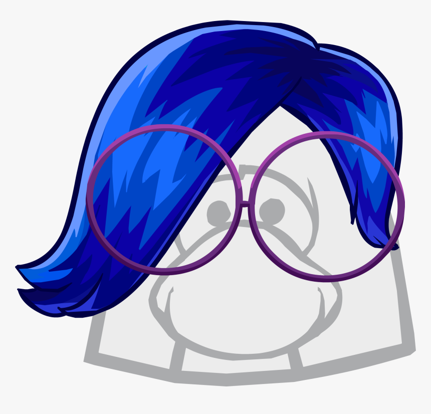 Latest Drawing Sadness - Club Penguin Boy Hair, HD Png Download, Free Download