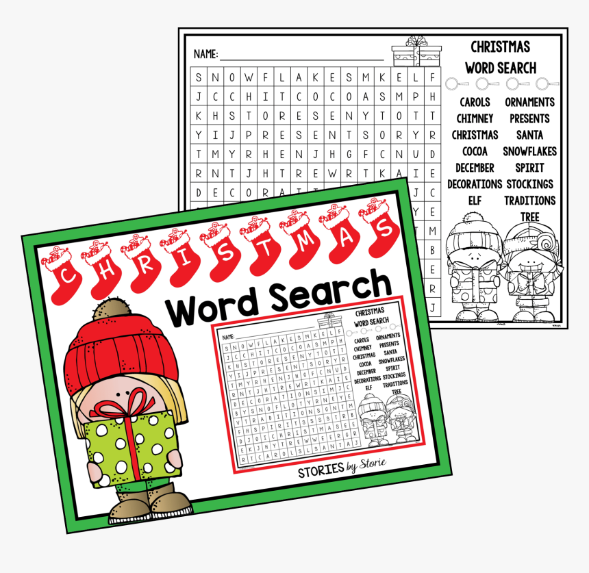 Christmas Word Search, HD Png Download, Free Download