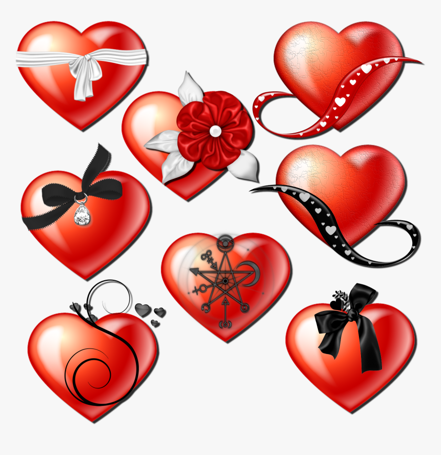 Coeurs Png En Kit - Heart, Transparent Png, Free Download