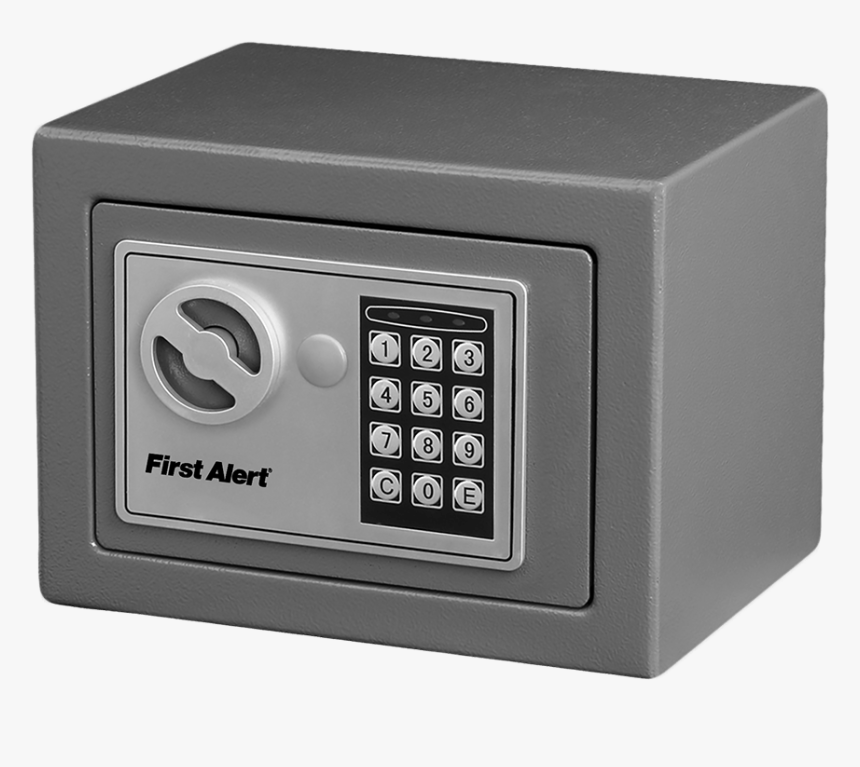 Security Box, Gray, - First Alert Security Box, HD Png Download, Free Download