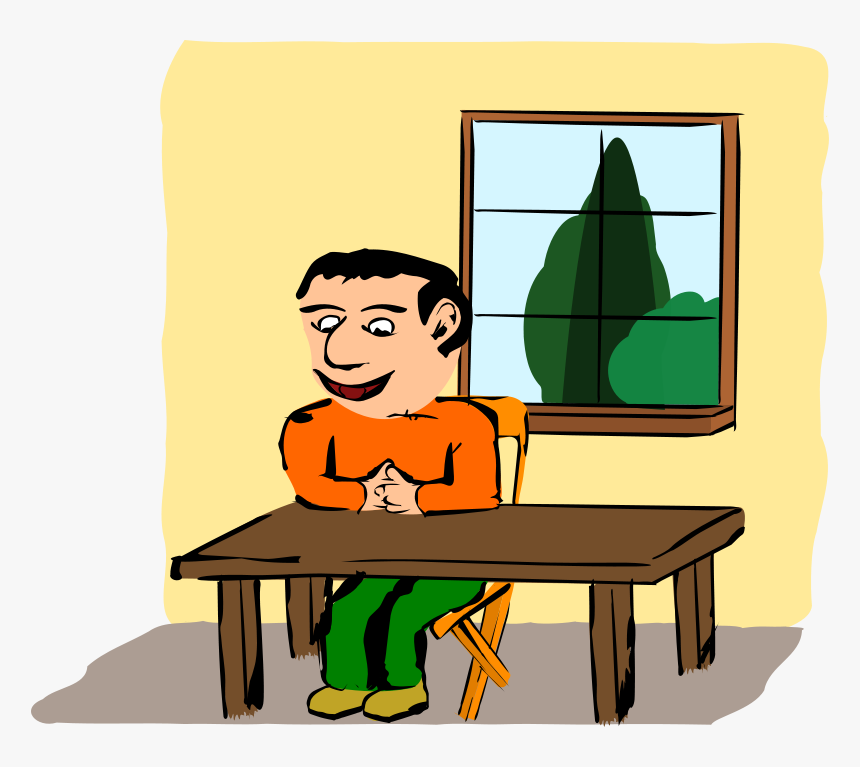 Sitting At The Table - Sitting At The Table Clipart, HD Png Download, Free Download