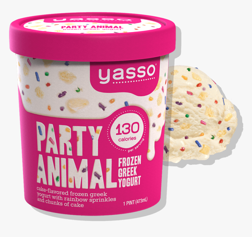 Birthday Cake Flavor - Yasso Birthday Cake Ice Cream, HD Png Download, Free Download