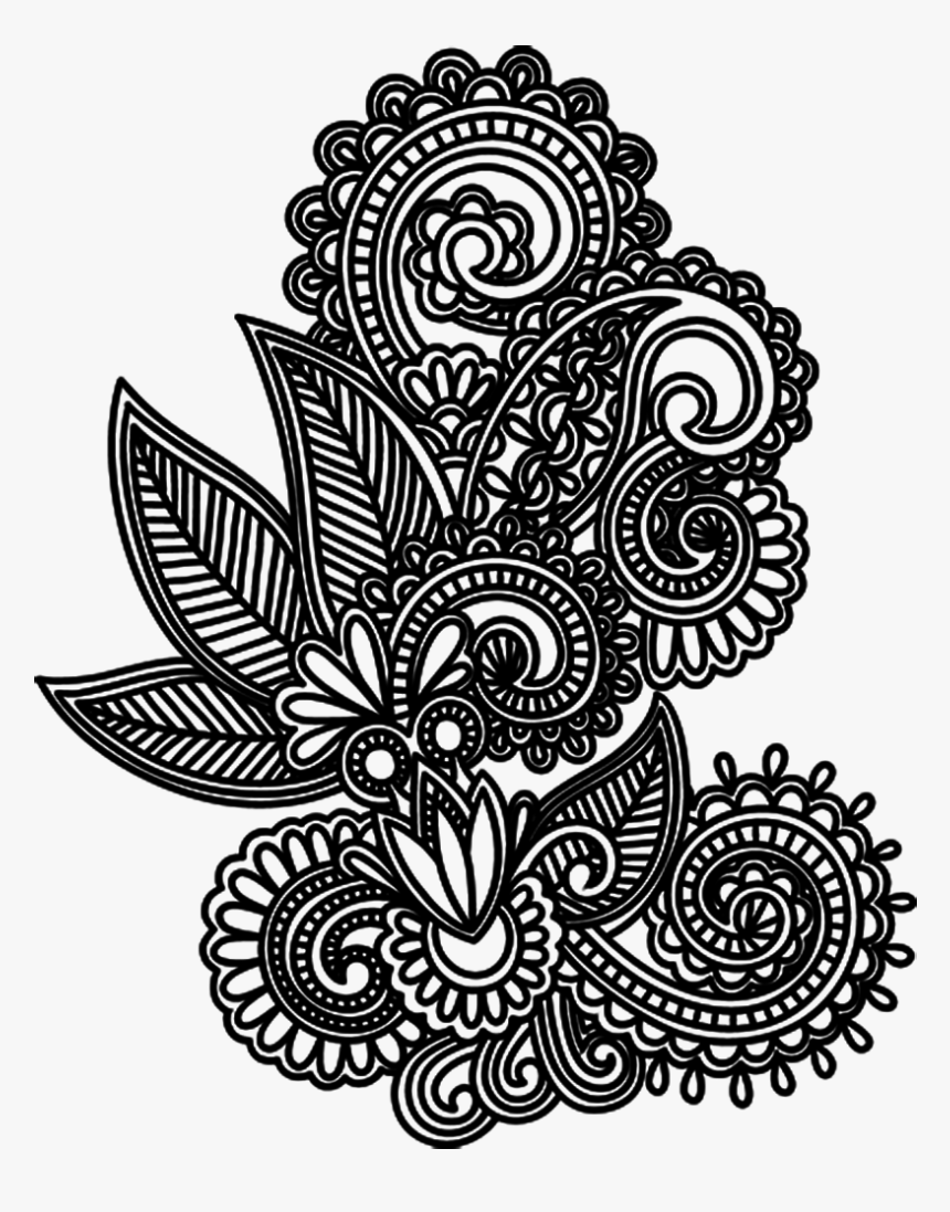 Tattoo Design Drawing Mehndi Png File Hd Clipart Henna Png