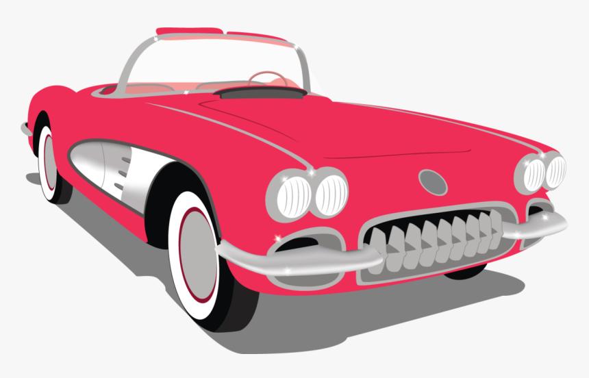 50s Clipart Transparent - Transparent 50s Car Clipart, HD Png Download, Free Download