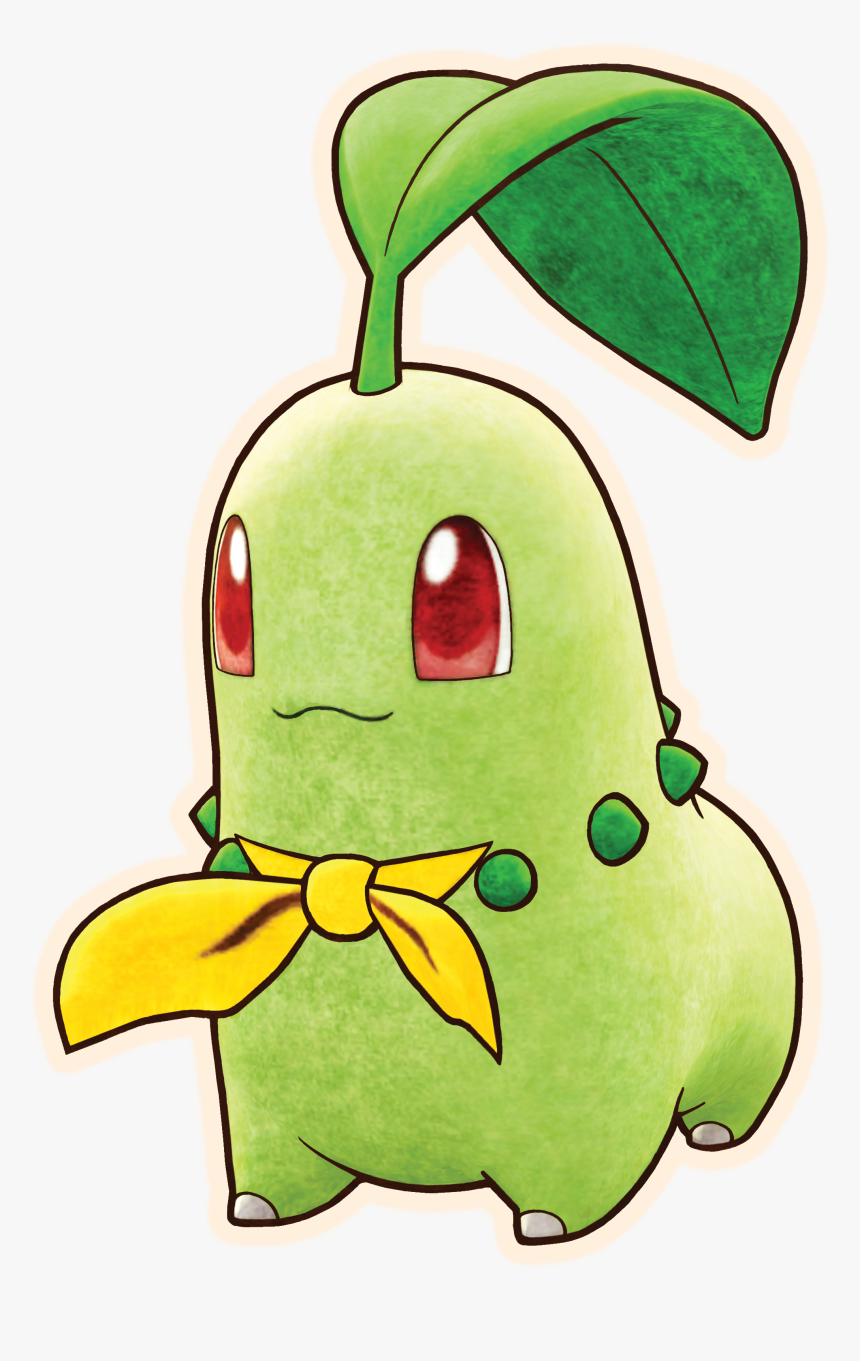 Chikorita Mystery Dungeon Dx, HD Png Download, Free Download