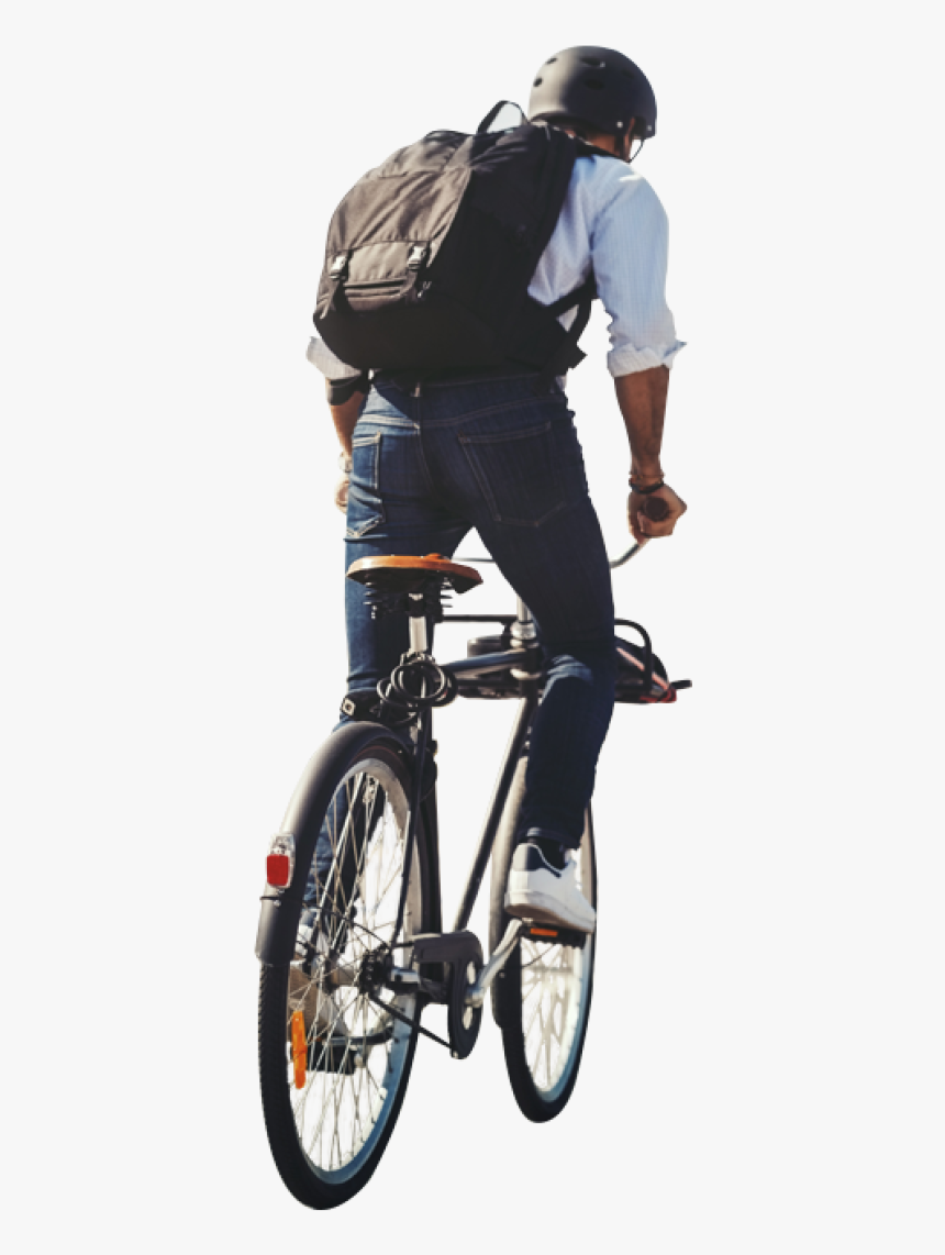 People On Bike Png, Transparent Png, Free Download