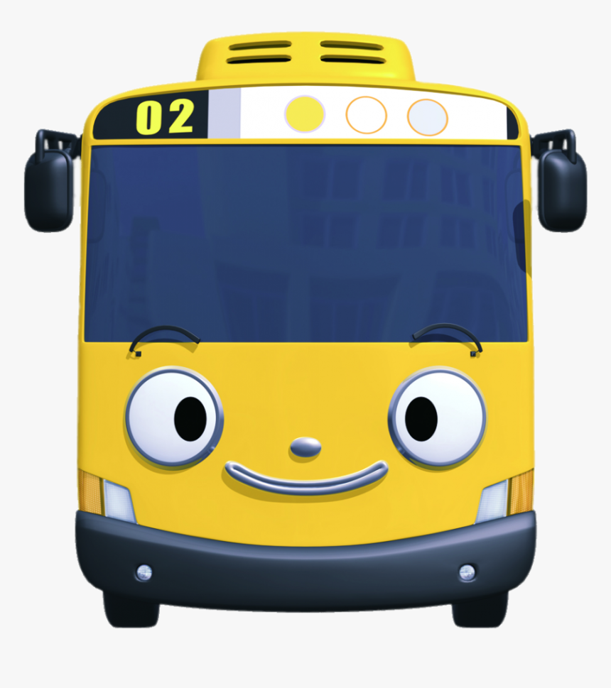 Tayo The Little Bus Character Lani Smiling - Tayo Bus Lani, HD Png Download, Free Download