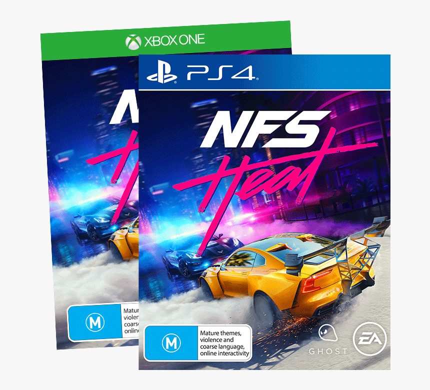Nfs Heat Ps4 Xb1 Need For Speed Heat Ps4 Cover Hd Png Download