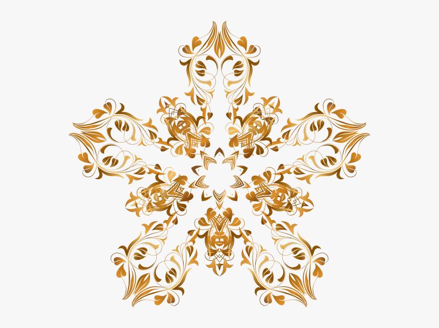 Flourish Decorative Star - Clip Art, HD Png Download, Free Download
