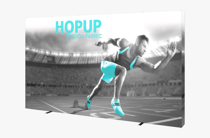 Hop 5x3fge S 1 Right - Hopup Tension Fabric Display, HD Png Download, Free Download