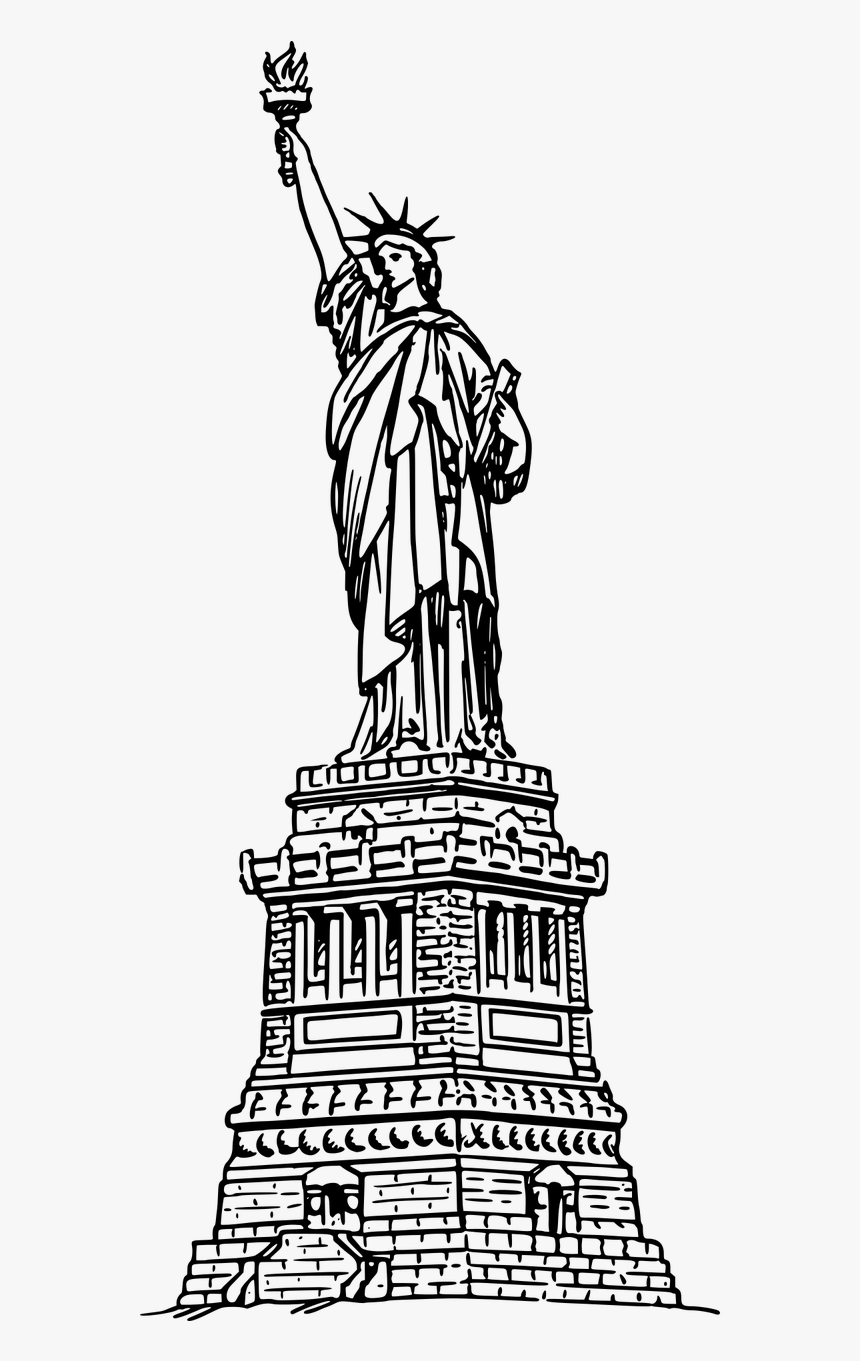 - York,statue,stuff,united States,usa,free Vector Graphics,free