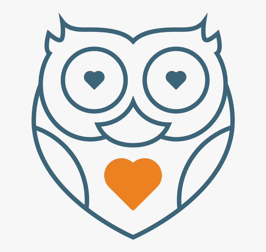 Owl Icons Blue Soul - Portable Network Graphics, HD Png Download, Free Download
