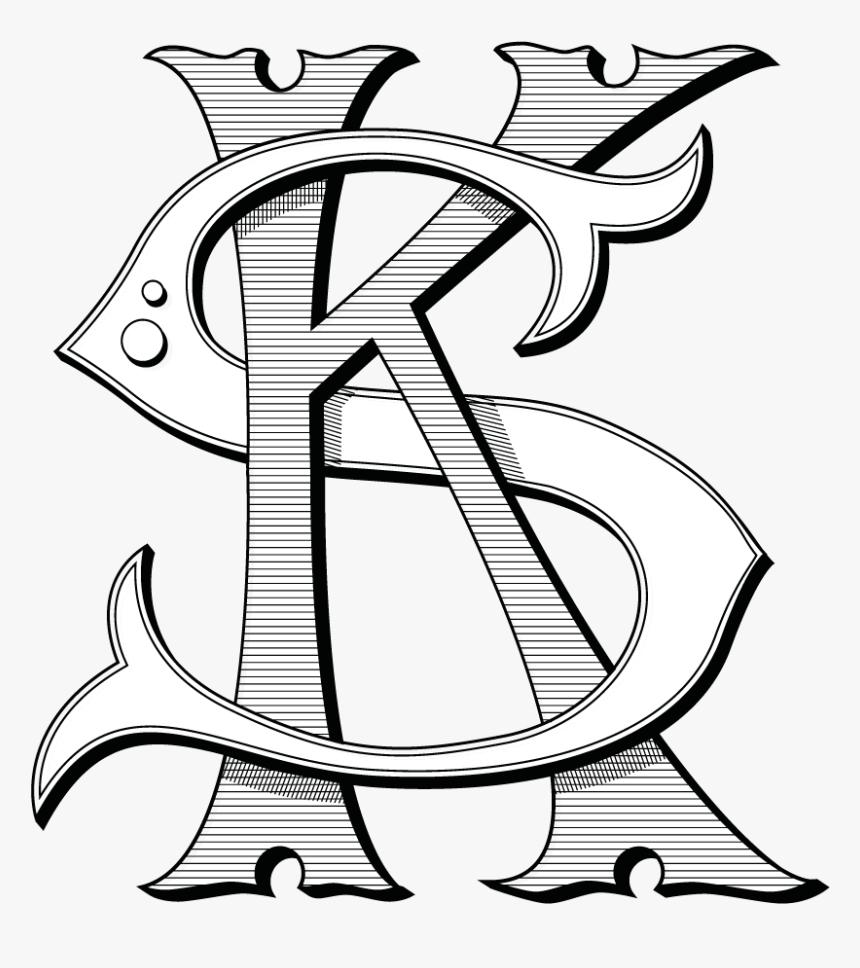 Krabman Signs Krabman Signs Monogram Ks Logo Png Transparent Png Kindpng