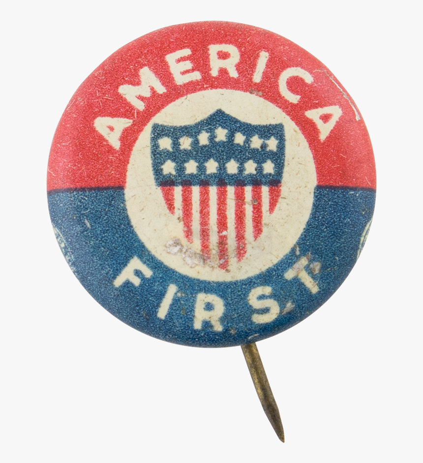 America First Cause Button Museum - America First Committee, HD Png Download, Free Download