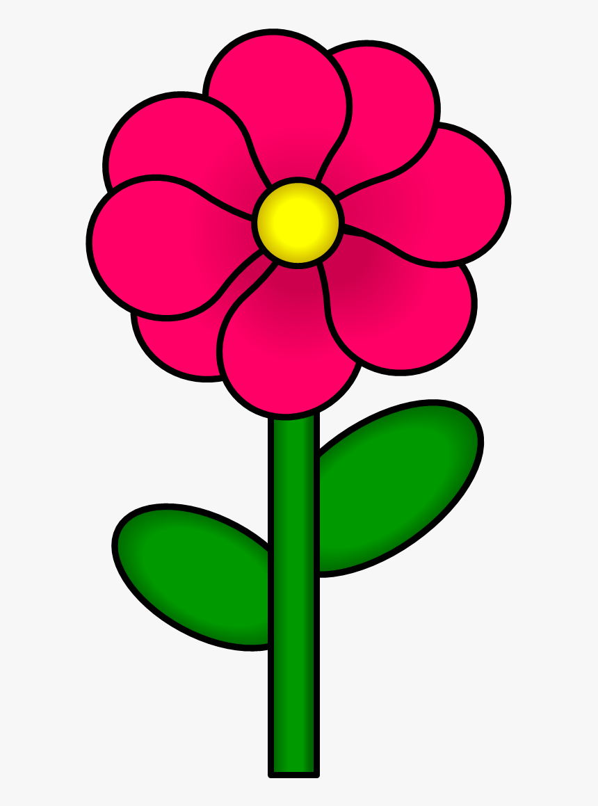 Flower Clipart With Stem Png Free Stock Stem Clipart Flowers With Stems Clip Art Transparent Png Kindpng