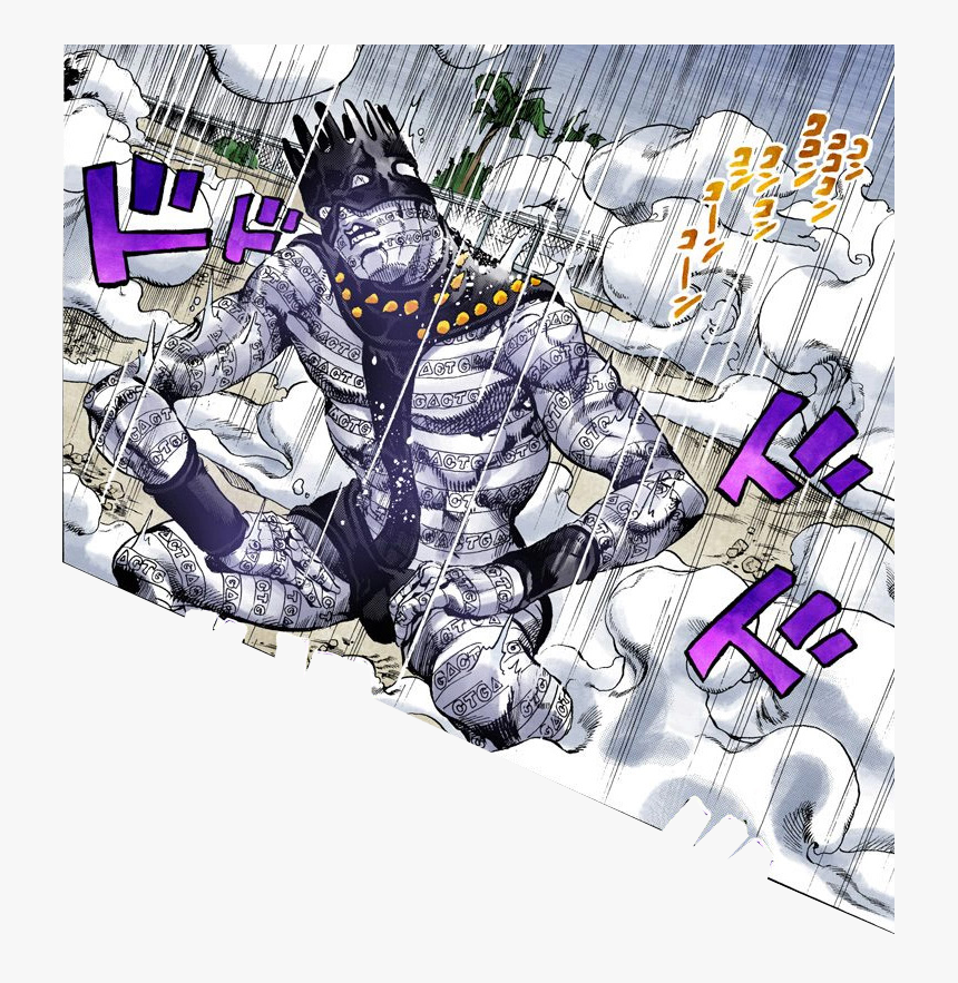 Dat Pose White Snake Jjba Stone Ocean Puccipanels Stands White Snake Jojo Hd Png Download Kindpng