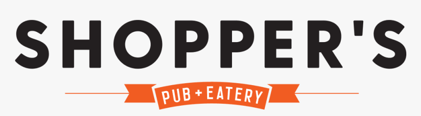 Shopper's Pub And Eatery - Graphic Design, HD Png Download, Free Download