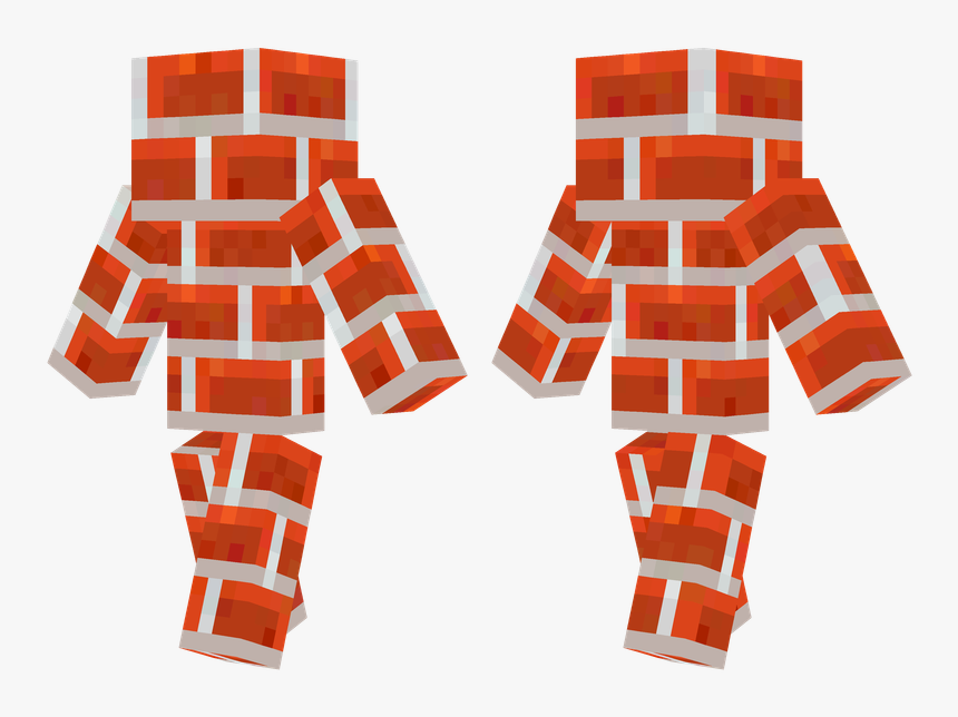 Red Armor Minecraft Skin, HD Png Download, Free Download