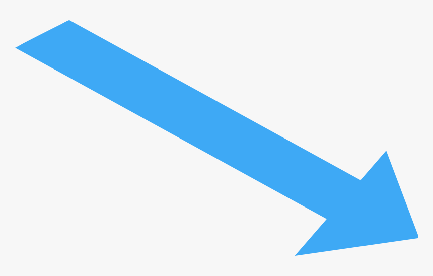 Straight, Wide Directional Pointing To Lower Right - White Flag Blue Diagonal Line, HD Png Download, Free Download