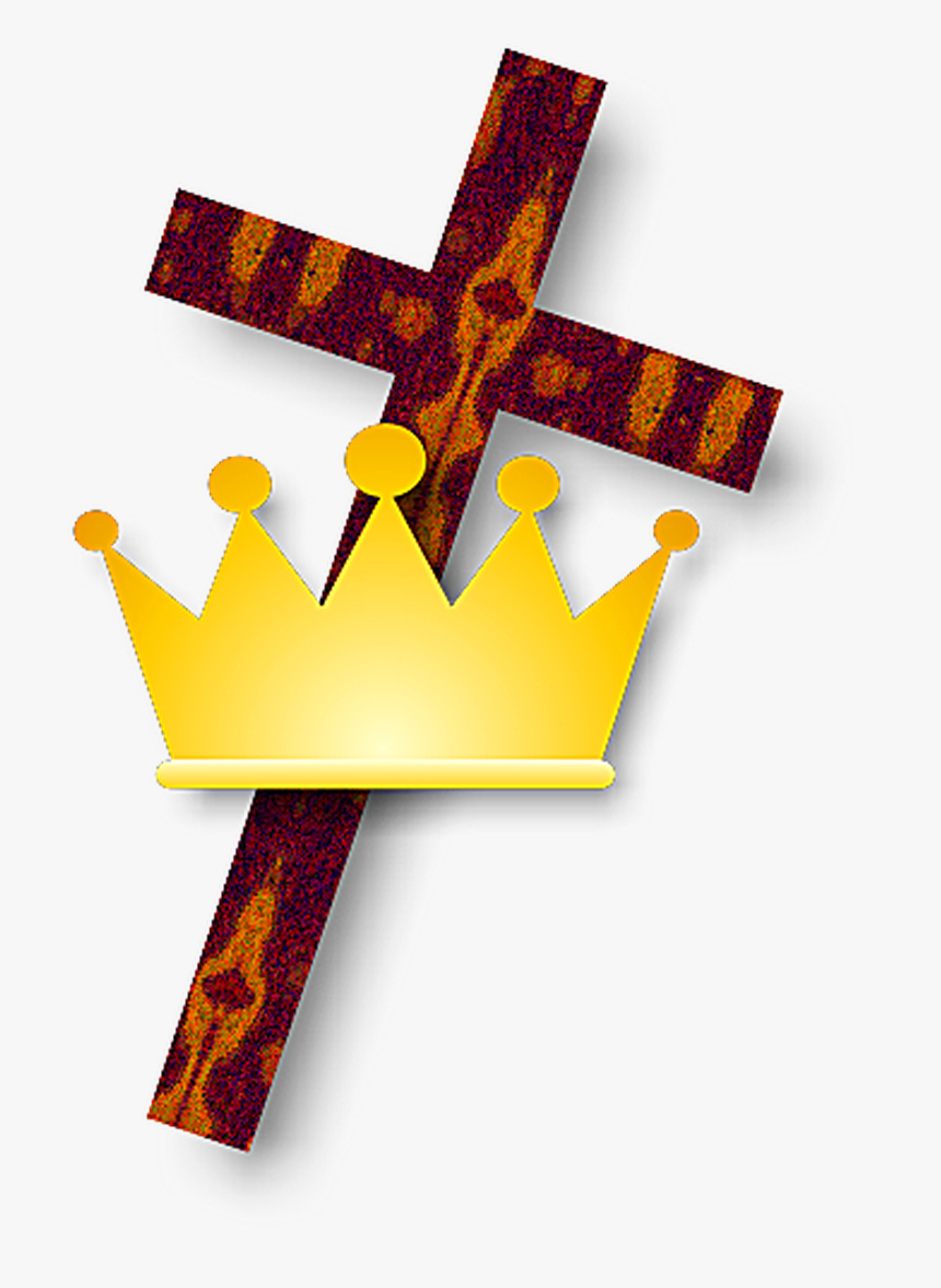 Christian Cross And Crown, HD Png Download, Free Download