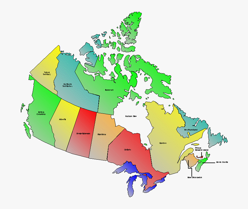 "Google Reveals Top ""how To Spell - Map Of Canada 2019, HD Png Download, Free Download"