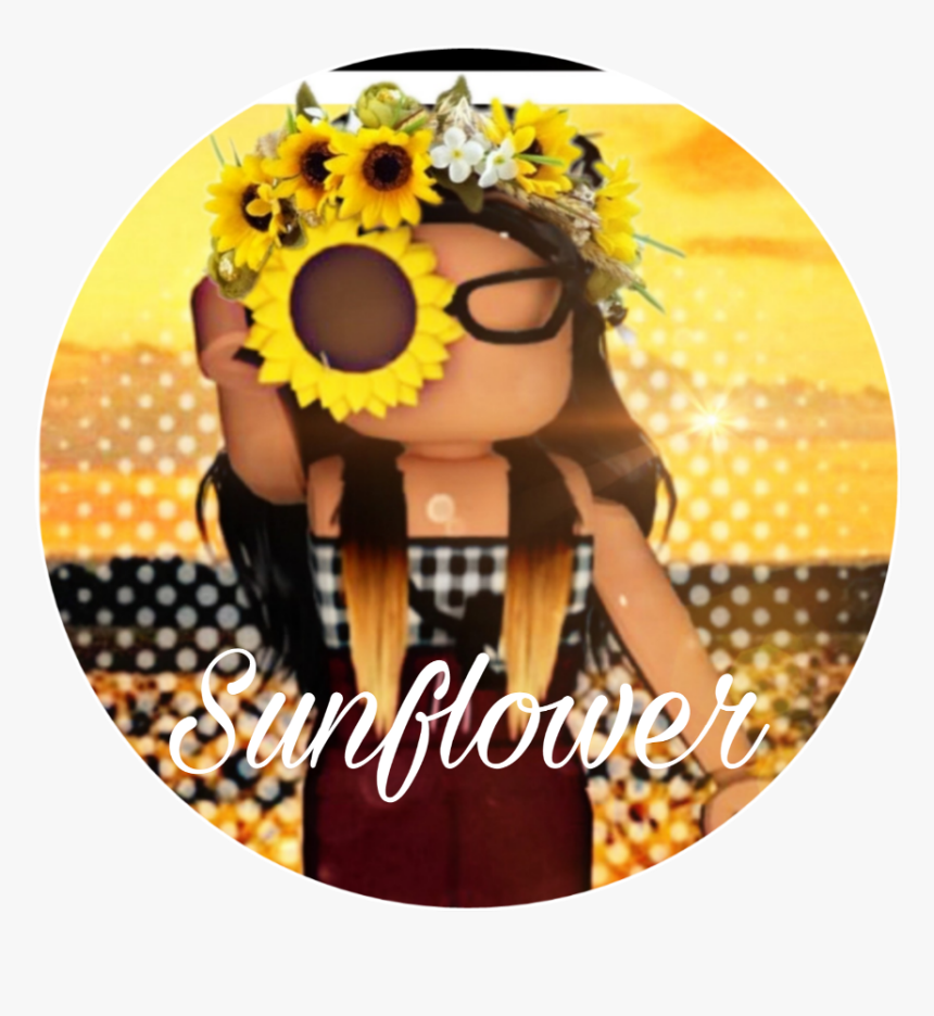 Random Gfx Roblox Girl Sunflower Cute Roblox Girl Gfx Hd Png