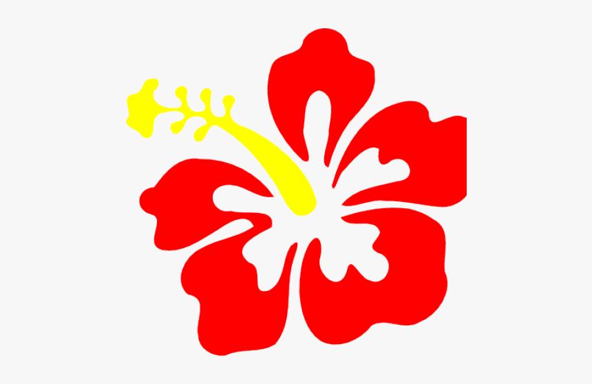 Red Hibiscus Clip Art